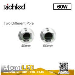 โคมไฟถนน Led RIO 60w RICHLED
